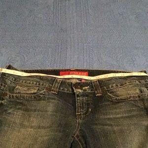 "Women's Guess ""Dare Devil"" jeans 32x31"
